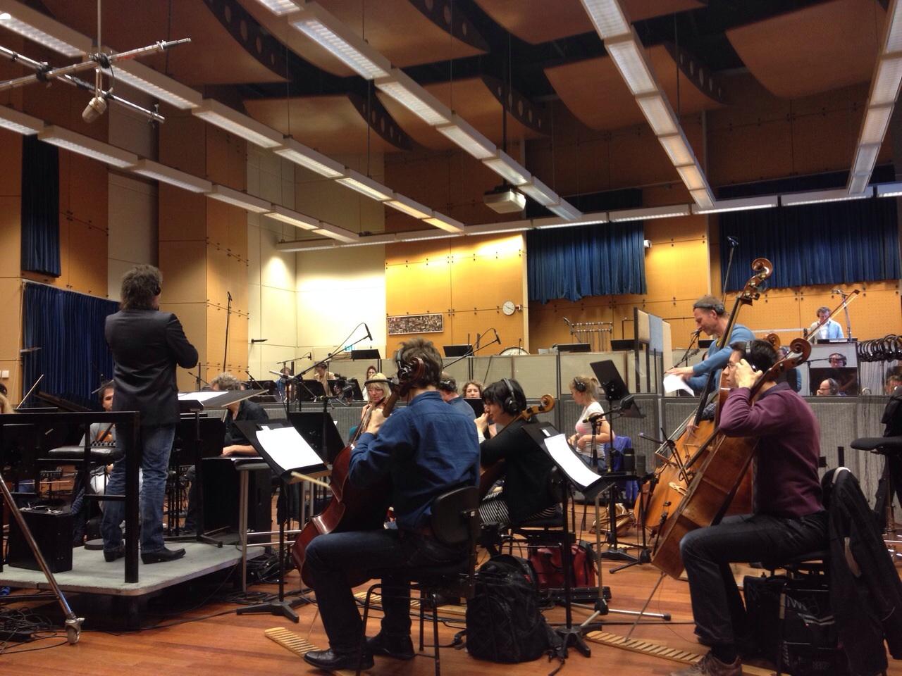 filmen bij Metropole orkest overview